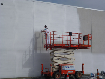 commercial painting by Straight Paint